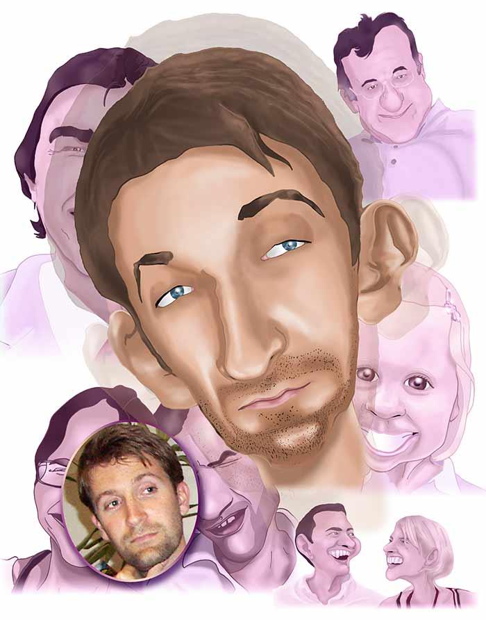 portrait-d-apres-photo-caricature